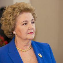K. Brazauskienė teisme reikalauja per 100 tūkst. už nesumokėtą rentą