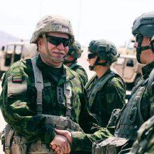 Lietuvos kariai baigė pratybas JAV