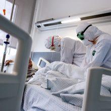 86-oji mirtis nuo koronaviruso: žmogaus gyvybė užgeso Kauno klinikinėje ligoninėje