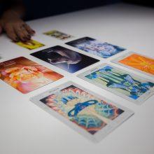Taro kortų kelionė Kauno bienalėje