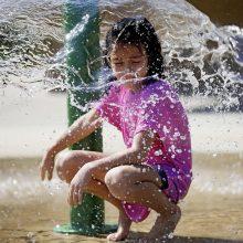 Tyrimas: karščio bangos ir lietaus periodai ilgės