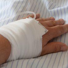 Kauno ligoninėje gydomas stipriai sumuštas vyras