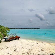 Aktorius J. Barkus su žmona medaus mėnesį praleido Maldyvuose
