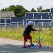 Saulės energetikos suklestėjimą lemia ir pinigai