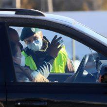 Dėl koronaviruso plitimo grėsmės savaitei uždaroma Nemenčinė