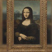 """Už paveikslo """"Mona Lisa"""" kopiją tikimasi gauti iki 300 tūkst. eurų"""