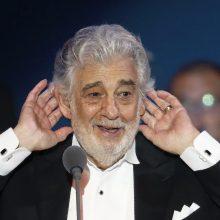 Ispanijos kultūros ministerija atšaukė P. Domingo pasirodymą Madride