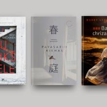 """Knygų naujienos: japoniškasis """"Pavasario kiemas"""" ir kitos istorijos"""