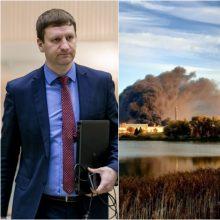 Mero patarėjas S. Kairys: panašu, kad Alytaus gaisro padariniai pasiekia Kauną