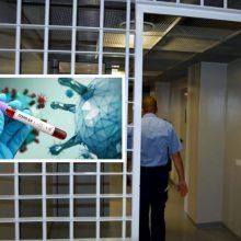 COVID-19 serga 131 įkalinimo įstaigų pareigūnas ir darbuotojas, 116 kalinių