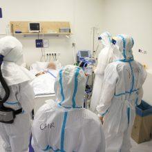 Ligoninėse šiuo metu gydomi 983 COVID-19 pacientai, iš jų 87 – reanimacijoje