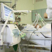 Ligoninėse šiuo metu gydomi 1193 COVID-19 pacientai, iš jų 106 – reanimacijoje