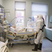 Ligoninėse šiuo metu gydomi 935 COVID-19 pacientai, iš jų 77 – reanimacijoje