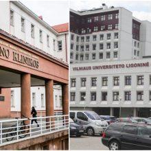 Premjerė ir sveikatos ministras žada pusiausvyrą tarp Kauno ir Santaros klinikų