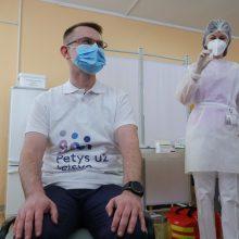 A. Dulkys: masinė vakcinacija galimai prasidės vasaros pradžioje