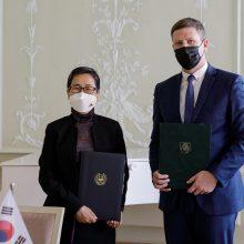 Lietuva stiprina kultūrinius ryšius su Pietų Korėja