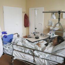 Ligoninėse gydoma per 1,6 tūkst. COVID-19 pacientų, 176 iš jų – reanimacijoje