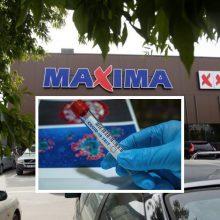 """Dar dviem """"Maximos"""" darbuotojoms nustatytas koronavirusas"""