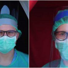 """Projektas """"Priešakinėse linijose"""": medicinos darbuotojų nematomo karo užkulisiai"""