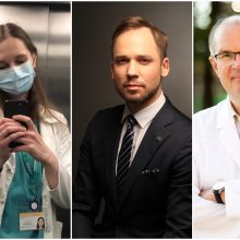 Medicinos darbuotojų dienos proga – bendras J. Sakalausko ir medikų atliktas kūrinys