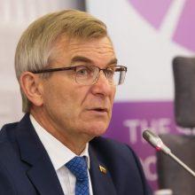 V. Pranckietis išvyksta į ES parlamentų vadovų konferenciją Austrijoje