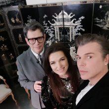Eugenijus Skerstonas <span style=color:red;>(kairėje)</span>, Kristina Rimienė ir Juozas Statkevičius