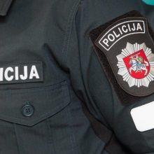 Kėdainiuose smurtavęs neblaivus policininkas nuteistas laisvės apribojimu