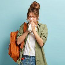 Nuo varginančios alergijos gelbėja ir pavasarinis lietus