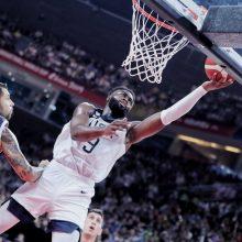 JAV krepšininkai įveikė graikus ir pratęsė pergalių seriją