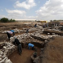 Izraelyje rastos 5 tūkst. metų senumo miesto liekanos