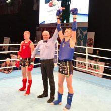Finale dominavęs D. Dirkstys – Europos muaitai čempionas