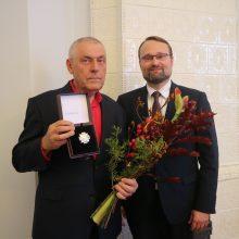 S. Eidrigevičiui įteiktas aukščiausias Kultūros ministerijos apdovanojimas