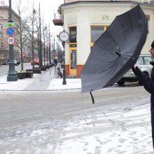 Orai: atkeliauja sniegas, o po jo – didesnė šiluma
