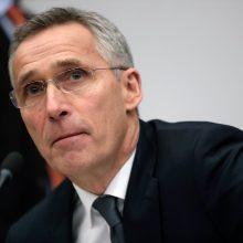 J. Stoltenbergas: JAV dėl karių patraukimo išsamiai tarėsi su sąjungininkėmis