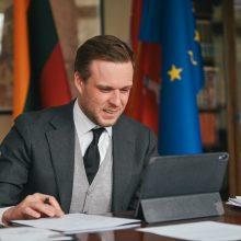 G. Landsbergis: labai tikiuosi, kad ES sutars dėl sankcijų Rusijai