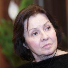 Aktorė E. Gabrėnaitė mini 70 metų jubiliejų
