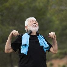 Senjorai kviečiami mankštintis pagal individualizuotas fizinio aktyvumo programas
