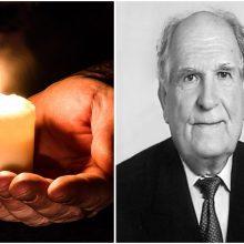 Po sunkios ligos mirė profesorius V. Valentinavičius