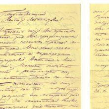 Nacionalinė biblioteka dovanų gavo Nobelio premijos laureato B. Pasternako rankraštį