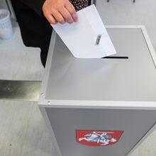 Prasideda balsavimas iš anksto renkant Radviliškio merą