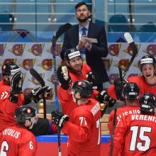 Lietuvos ledo ritulininkai Kazachstane iškovojo pirmąją pergalę