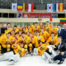 Pasaulio ledo ritulio čempionatų šeimininkės: U-20 pirmenybės vyks Vilniuje