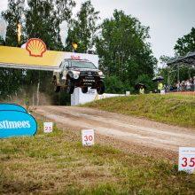 B. Vanagas Rokiškio ralyje startuos labai neįprastai: važiuos su Dakaro bolidu