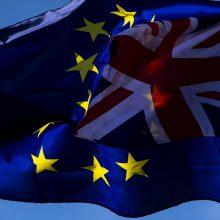"""Nepaisant prašymo atidėti """"Brexit"""", ES siekia ratifikuoti """"skyrybų"""" susitarimą"""