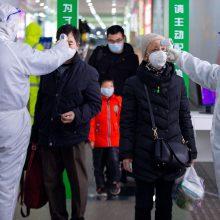 Prognozuojama, kada Kinijoje gali stabilizuotis koronaviruso epidemija