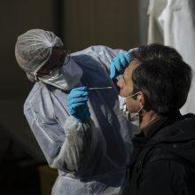 PSO įspėja per anksti nešvelninti priemonių kovoje su pandemija