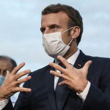 Pakistano premjeras apkaltino E. Macroną puolant islamą