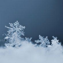 Kitą savaitę debesys pažers dar sniego, labiau spustels ir šaltukas