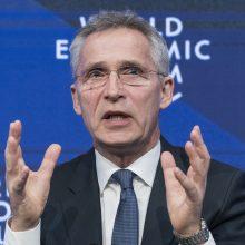 J. Stoltenbergas: Turkija ir NATO vis dar nesutaria dėl rusiškos ginkluotės sandorio
