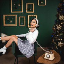 Iglė pristato kalėdinę dainą: po ilgos pertraukos ji pati sukūrė kūrinio muziką ir žodžius